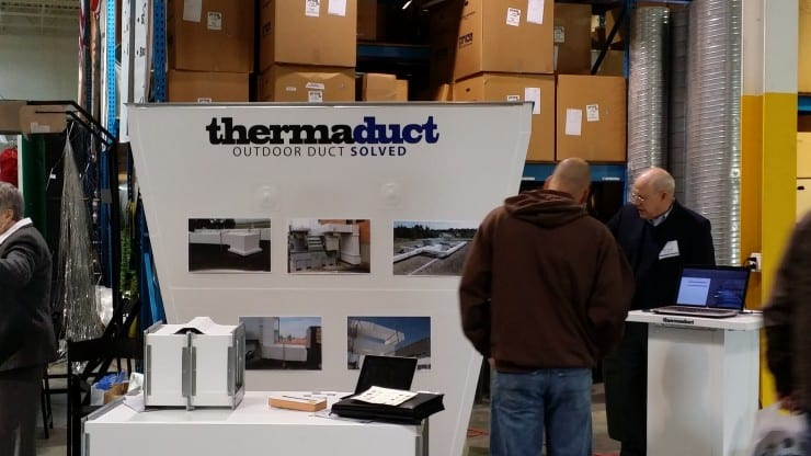 Thermaduct Display