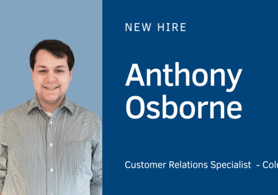 New Hire - Anthony Osborne